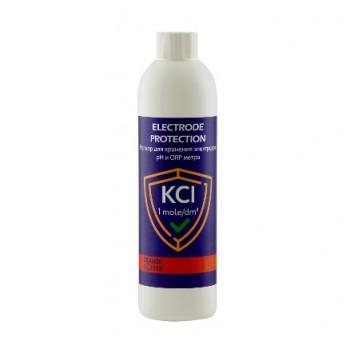 Раствор для хранения электродов pH и ORP метра 250 мл. (KCl 0. 1 моль/дм3)