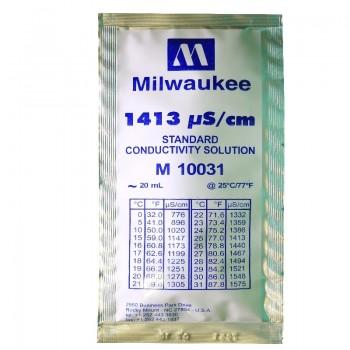 Калибровочный раствор 1413 µS/cm Calibration Solution Milwaukee 20 ml.
