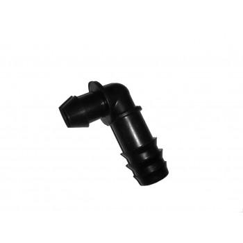 Стартовый для ПВХ трубки угловой 16 мм