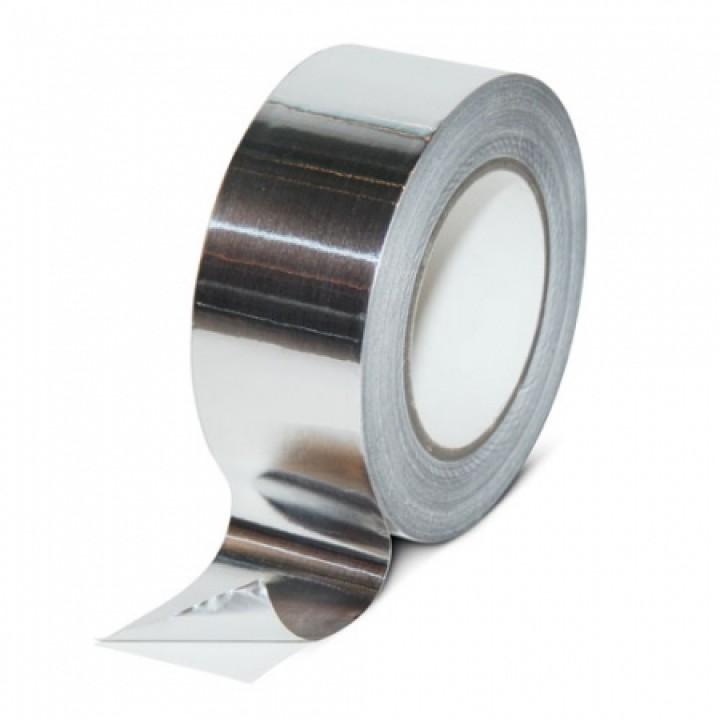 Лента алюминиевая клейкая 50*50м