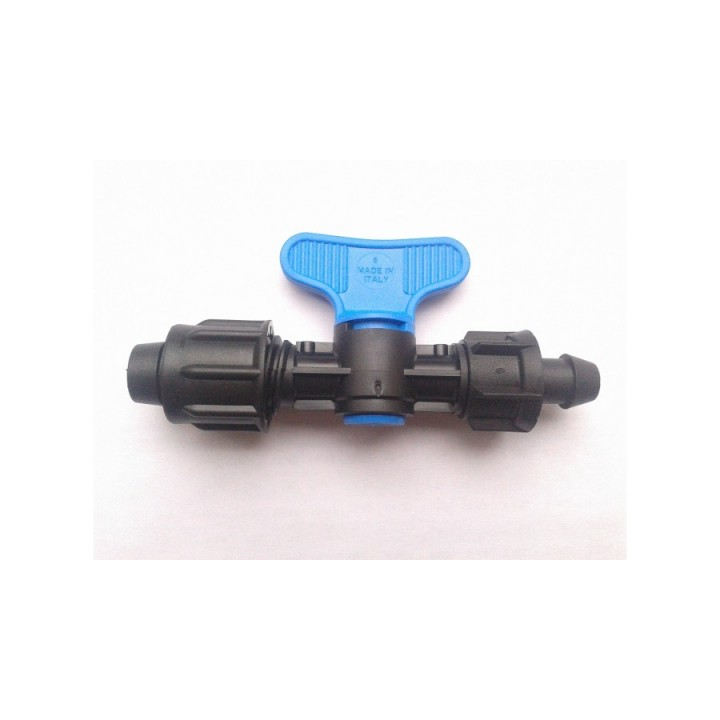 Фитинг ПНД кран-лента SABtape (с резиновым кольцом)