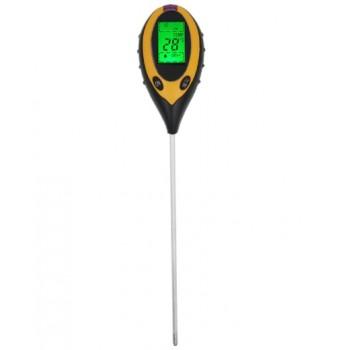 Электронный измеритель pH, температуры, влажности и кислотности почвы (4 в 1)