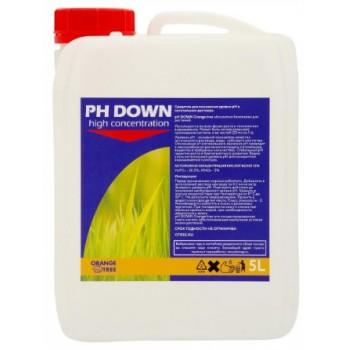 pH DOWN 5L Orange Tree