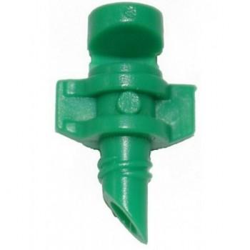 Микроспринклер, сектор полива 180 градусов, зеленый, радиус 0,9-1,3м