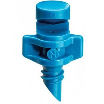 Микроспринклер, сектор полива 90 градусов, синий, радиус 0,9-1,3м
