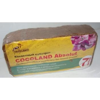 Субстрат кокосовый Cocoland Absolut Plus в брикетах (7л)