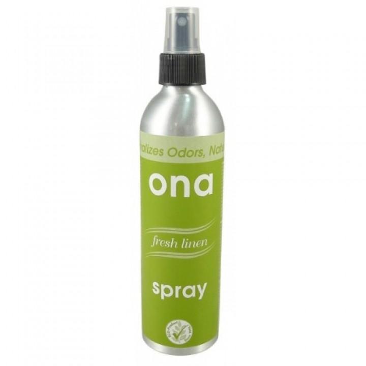 Нейтрализатор запаха Ona Mist в виде аэрозоля Fresh linen 170 мл.