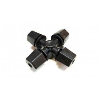 Туманообразователь, 4 сопла, черный 33,2л/ч 2,5bar, радиус 1,1-1,2м арт: MJ1301