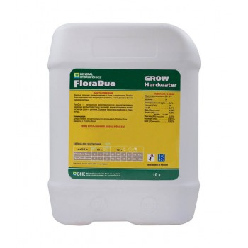 Flora Duo Grow HW GHE 10 L (t°C)
