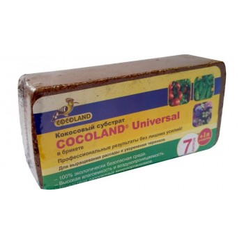 Субстрат кокосовый Cocoland Universal в брикете (7 л)