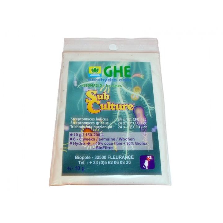 BioMagix - SubCulture GHE 10G (t°C)
