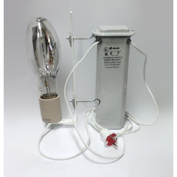 Комплект освещения растений ДНаЗ 250 Вт с закрытым ПРА