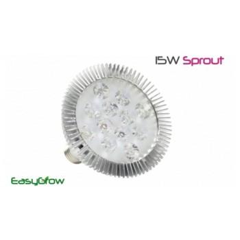 Светодиодная лампа  EasyGrow 15W Sprout для освещения и подсветки растений