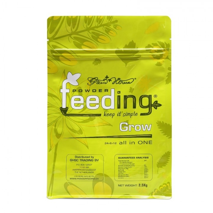 Powder Feeding Grow 2.5 kg