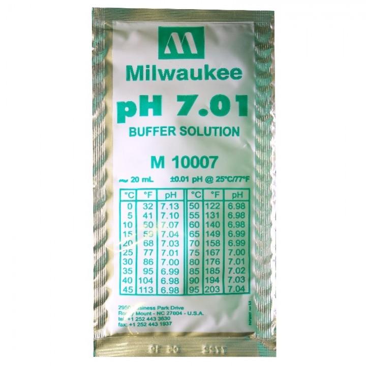 Калибровочный раствор для pН 7.01 (Milwaukee)