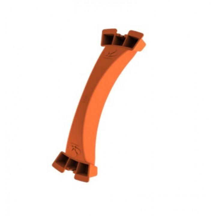 Нож для вырезания отверстия для канального фланца