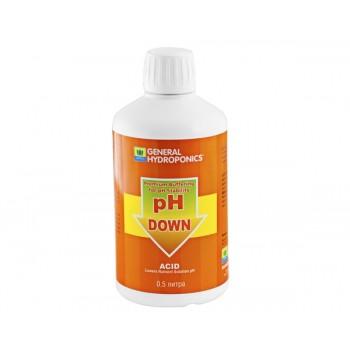 pH Down GHE 0,5 L (t°C)