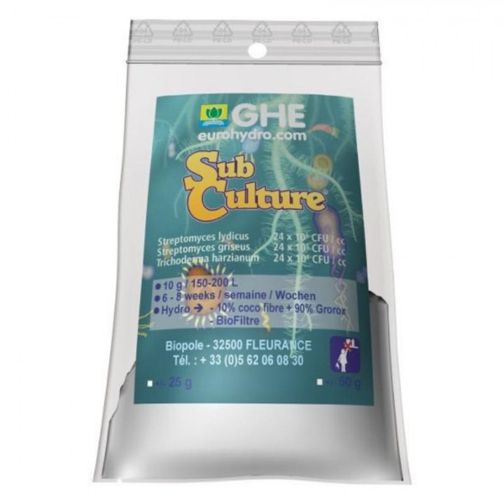 BioMagix - SubCulture GHE 25G (t°C)