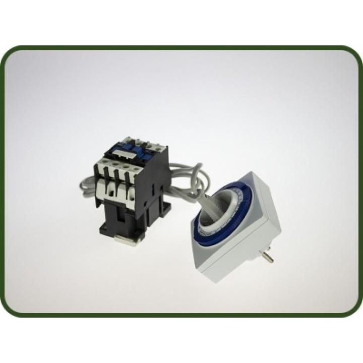 Магнитный пускатель + Таймер механический + Провод