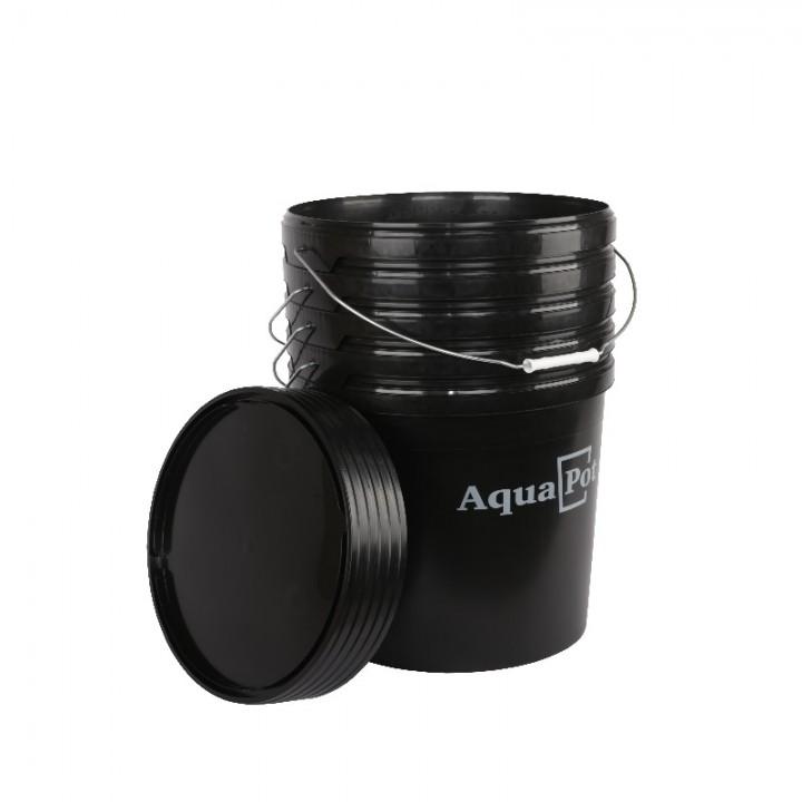 Емкость с крышкой Аqua Pot 30 л. Black